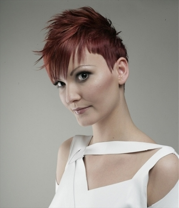 Mohawk hairstyle is best done with curly and long hair. For short hair ...