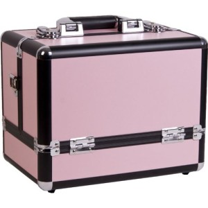 makeup train case storage