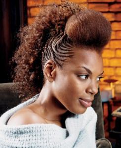best mohawk hair styles for black women